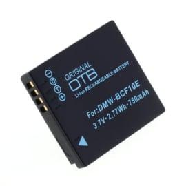 Original OTB Accu Batterij Panasonic DMW-BCF10E - 750mAh