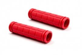 2x Handvat Kinderfiets 115mm lang 23mm diameter - Rood