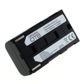 Original OTB Accu Batterij Canon BP-911 BP-915 e.a. - 2200mAh