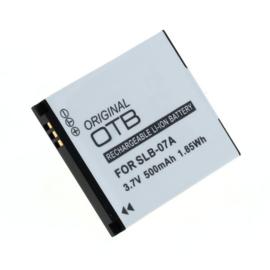 Original OTB Accu Batterij Samsung SLB-07A - 500mAh 3.7V