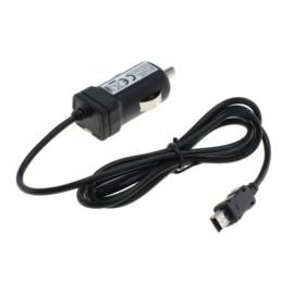 1A Mini USB Autolader met TMC voor Navigon / Becker GPS