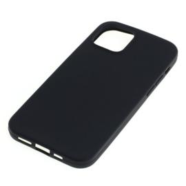 """OTB TPU Case voor Apple iPhone 12 6.1""""- Zwart"""