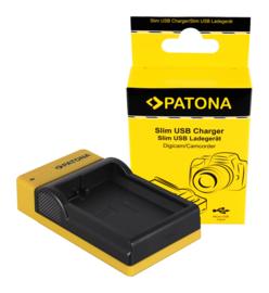 Compact Patona oplader v. accu EN-EL14 EN-EL14A Charger
