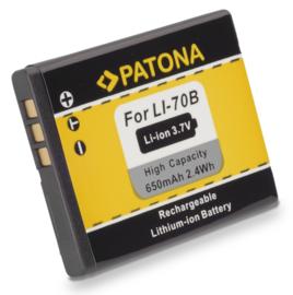 Patona Accu Batterij Olympus Li-70B - 3.7V 650mAh