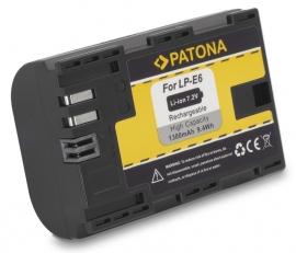 Originele Patona Accu Batterij Canon LP-E6 / LP-E6N met InfoChip - 1300mAh