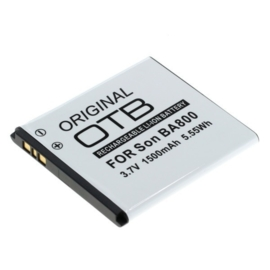 Accu Batterij Sony Xperia S e.a.  BA800 - 1500mAh