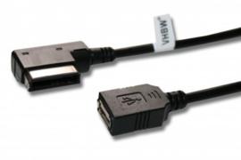 AMI Adapterkabel naar USB voor AUDI en VW met MMI 3G