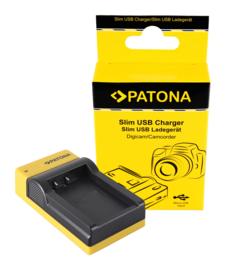 Compact Patona oplader voor de accu Canon LP-E17