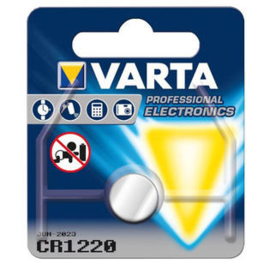 Varta CR1220 Knoopcel 6220 Lithium 35mAh 3V