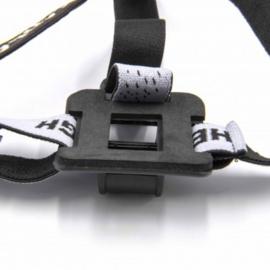 Helmband / hoofdband voor accu's van fietslampen