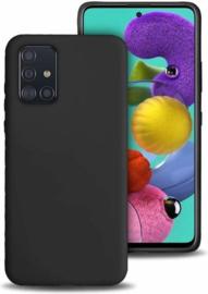 TPU Telefoonhoesje Samsung Galaxy A51 SM-A515 - Zwart