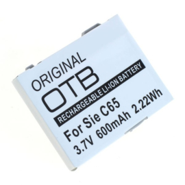Accu Batterij Siemens C65 M75 - EBA-670 e.a. 600mAh