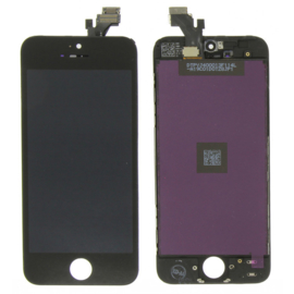 LCD + Touchscreen voor Apple IPhone 5 / 5G - Zwart