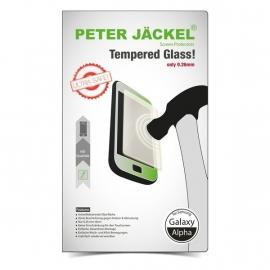 PETER JÄCKEL HD Glas Protector voor Samsung Galaxy Alpha