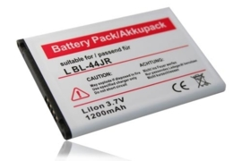 Accu Batterij voor LG BL-44JR Li-Ion - 1200mAh