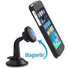 Magnetische raam telefoonhouder met 360 graden draaibare houder
