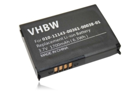 Accu Batterij Garmin Nuvi 500 550 Zumo 210 etc. 1700mAh
