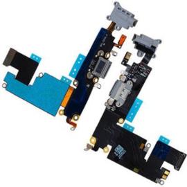Charger Connector Flex Micorphone voor Apple IPhone 6S Plus - Zwart