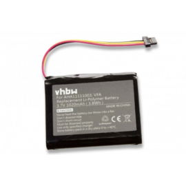 VHBW Accu Batterij TomTom VFA - 1020mAh