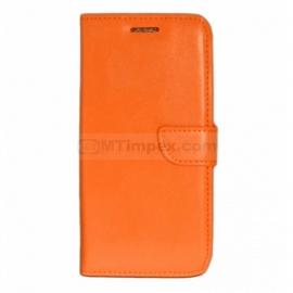 Bookstyle Case hoesje Sony Xperia M4 - Oranje