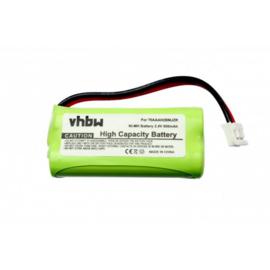 Accu Batterij DeTeWe BeeTel 2000 - 2,4V NiMH 800mAh