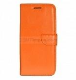 Bookstyle Case hoesje Sony Xperia E4 - Oranje