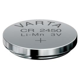 Varta CR2450 Knoopcel 6450 Lithium 560mAh 3V