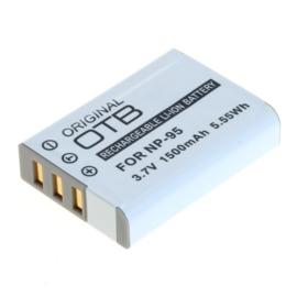 Accu Batterij Fuji NP-95 - 1500mAh