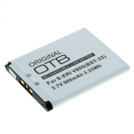 Accu Batterij Sony Ericsson  Aino e.a. BST-33 - 900mAh