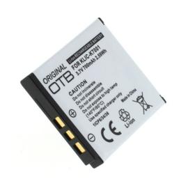 Original OTB Accu Batterij Rollei DA101 - 700mAh