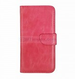 Bookstyle Case hoesje Apple iPhone 5 5G 5S SE - Roze