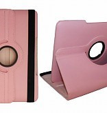 360 Rotation Case voor Apple iPad 2018  - Licht Roze