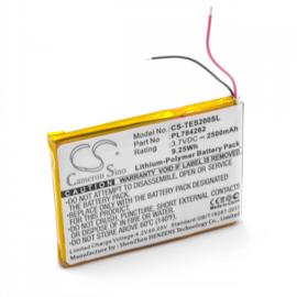 Accu Batterij PL784262 CS-TES200SL Teasi One 2 - 3.7V 2500mAh