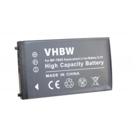 VHBW Accu Batterij voor Kyocera Finecam SL400R - 700mAh