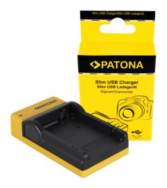 Compact Patona oplader voor de accu Canon LP-E8
