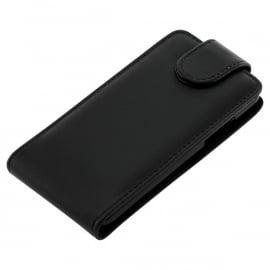 Flipcase hoesje Google Nexus 4 E960 - Zwart - OP=OP
