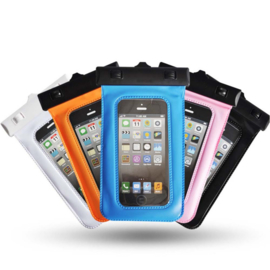 "100% waterdicht en stofdichte telefoonhoes max. 6"" telefoons - Transparant"