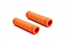 2x Handvat Kinderfiets 115mm lang 23mm diameter - Oranje