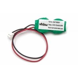 VHBW Bios Cmos Batterij GDM710000041 e.a. - 2.4V 20mAh Ni-MH
