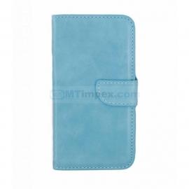 Bookstyle Case hoesje Huawei Ascend P8 - Aqua Blauw