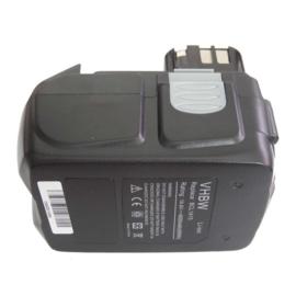 14,4V VHBW Accu Batterij Hitachi BCL 1415 - 4000mAh Li-Ion