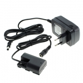 OTB 100 – 240V Adapter Voeding Oplader Canon ACK-E6 LP-E6