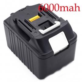 18V Accu Batterij Makita BL1860 - 6000mAh