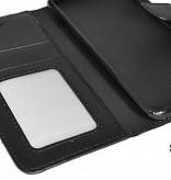Telefoonhoesje Bookstyle Cover Case Tasje LG Q6 LG M700 - Zwart
