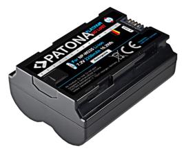 Patona Accu Fuji NP-W235 Fujifilm X-T4 VG-XT4 - 2250mAh Platinum