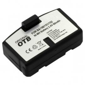 OTB Accu Batterij Sennheiser BA 150 / BA 151 / BA 152 - 60mAh