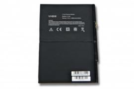 VHBW Accu Batterij Apple Ipad 5 A1474 A1475 A1484 Mini Air - 8820mAh