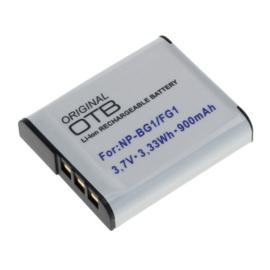 Original OTB Accu Batterij Sony NP-BG1 / Sony NP-FG1 - 900mAh