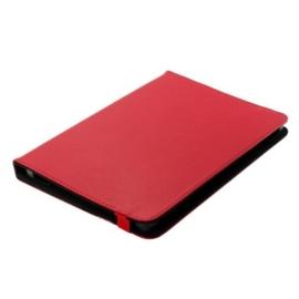 Bookstyle Bescherm Case voor Tablets tot 10 Inch - Rood