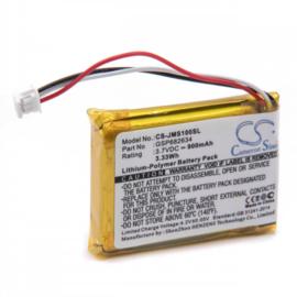 Accu Batterij JBL Go Smart - GSP682634 CS-JMS100SL - 900mAh